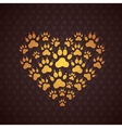Heart of The Dog Traces vector image vector image