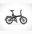 mini electric bike icon vector image