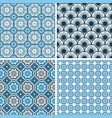 seamless patterns in trendy minimal style vector image vector image