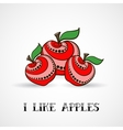 Apples-03 vector image vector image
