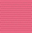 black polka dots on pink background vector image
