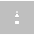 Bottle computer symbol vector image
