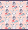 christmas deer for new year wrapping paper vector image vector image