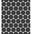 japanese kiku chrysanthemum floral seamless vector image vector image