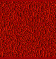 seamless pattern red various polygons as red vector image