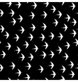 Swallow bird seamless pattern on a black vector image vector image