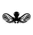 tribal octopus vector image vector image