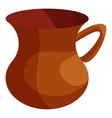 Turkish tea cup icon cartoon style vector image vector image