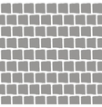 with brick wall background vector image vector image