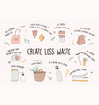 Zero waste environmental go green concept design