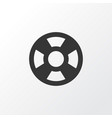 lifeguard icon symbol premium quality isolated vector image