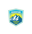 Adventure extreme sport - concept badge design