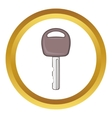 Car key icon vector image vector image