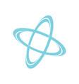 orbit science logo vector image