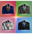 Stylized Jackets vector image