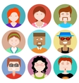 Flat Design People Icon vector image