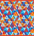 abstract geometric background - seamless vector image vector image