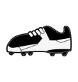 cleats football soccer shoe icon image vector image vector image