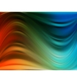 colorful dynamic and luminous waves eps 8 vector image vector image