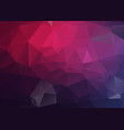 dark purple polygonal mosaic background geometric vector image