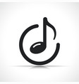 music note icon symbol vector image
