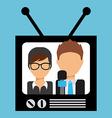 tv entertainment vector image
