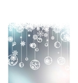 Christmas background with copyspace EPS 8 vector image