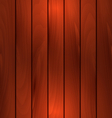 dark wooden texture plank background with light vector image vector image