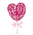 hand drawn lollipop vector image vector image
