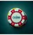 The Casino vector image