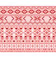 tribal ethnic motifs geometric seamless vector image