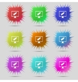 usb flash drive and monitor sign icon Video game vector image vector image