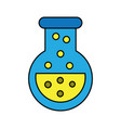 video game flask potion elixir power vector image