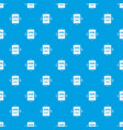 wanted pattern seamless blue vector image vector image
