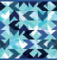 seamless ikat pattern vector image