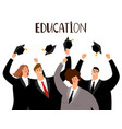 adult education concept vector image