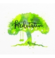 Beauty natural spa tree vector image