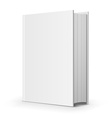Bold blank book vector image vector image