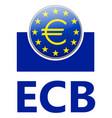 ecb - european central bank vector image vector image
