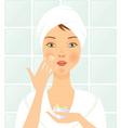 facial care vector image vector image