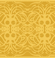ornament of lines and curves vector image