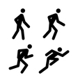 Running Pictograms vector image