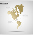 stylized america map vector image