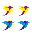 bird2 vector image vector image