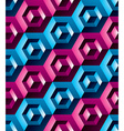 Colorful abstract textured geometric seamless vector image