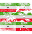 Flag of Somaliland with old texture vector image