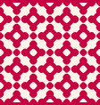 luxury red seamless pattern in asian style vector image
