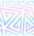 rainbow geometric spirals pattern vector image