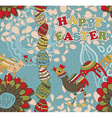 Seamless Easter Pattern can also be used as a vector image vector image
