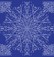 seamless texture with lace snowflake for your vector image